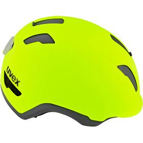 UVEX City 9 Fietshelm, neon yellow